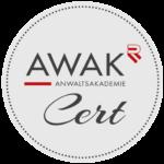 AWAK Zertifikat